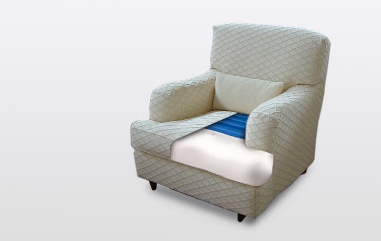 Il cuscino che trasforma la tua poltrona e il tuo divano in una perfetta seduta antidecubito un - Materasso per poltrona letto ...